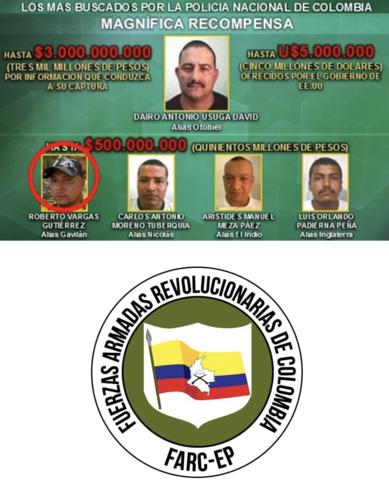 Alianza entre Los Urabeños y Ex - FARC Mafia