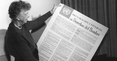 Se dio la Declaración Universal de los Derechos Humanos.