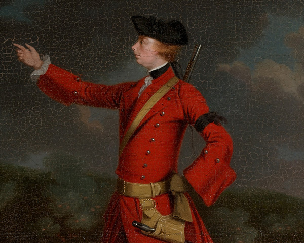 General Wolfe Ordered to Attack New France