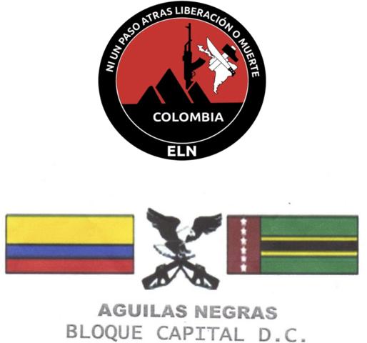 Alianza entre las Águilas Negras y el Ejército de Liberación Nacional