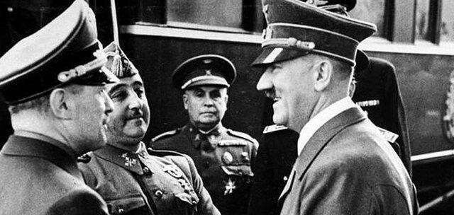EL GOVERN DE FRANCO REP EL RECONEIXEMENT DE HITLER I MUSSOLINI