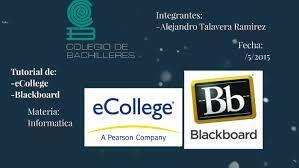 Ecollegue y blackboard