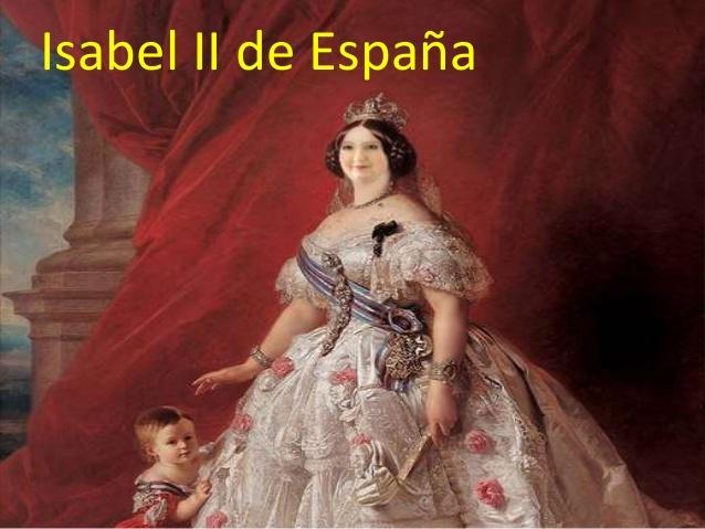 Exhalación de la reina Isabel II