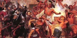 Caída de Tenochtitlan .