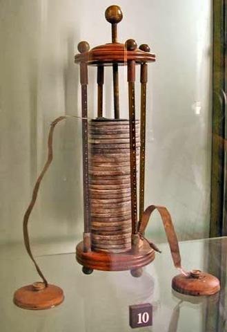 Invención de la Pila o Batería Eléctrica