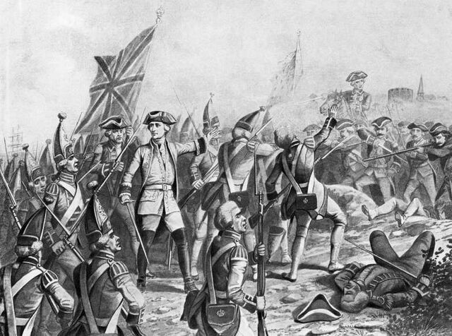 End of French and Indian War (1763)