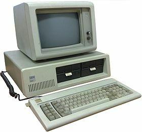 Primeras computadoras y software de escritorio.