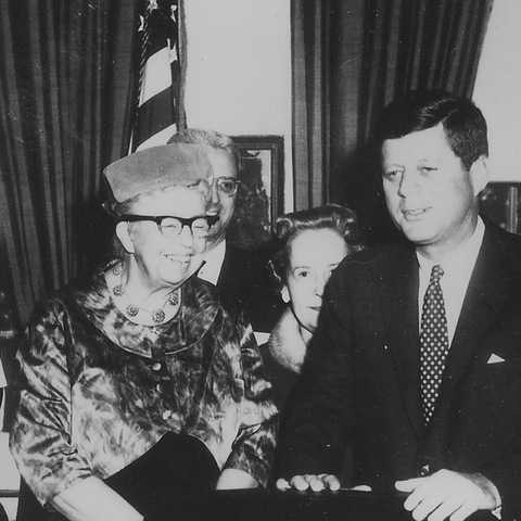 President Kennedy establishes Commission on the Status of Women