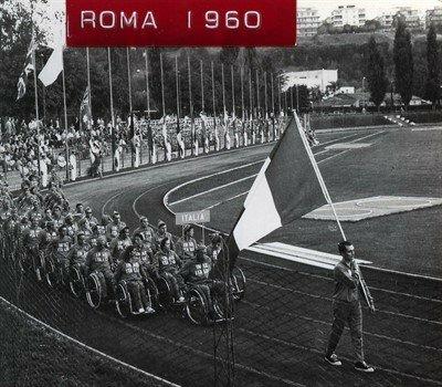 primeros juegos paralimpicos ROMA