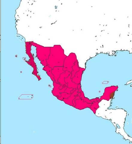 Se concreta la venta del territorio de La Mesilla distribuida entre el actual sur de Arizona y el suroeste de Nuevo México.