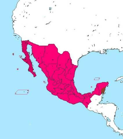 Se restablece la República Mexicana.