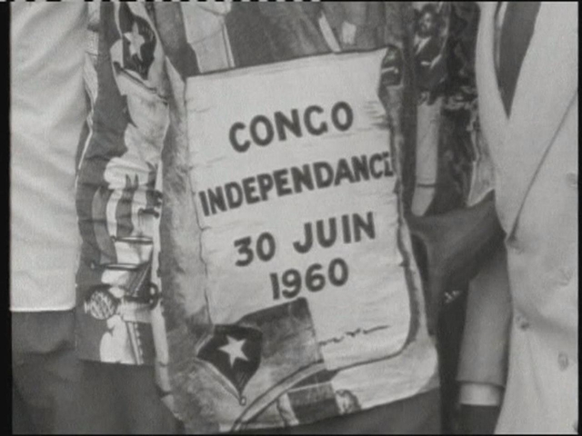 Belgium granted the Congo independence