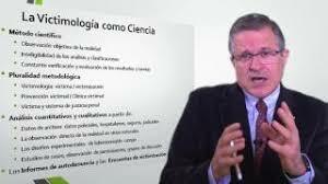 """Nueva ciencia """"vitimología""""."""