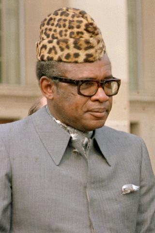 Joseph Mobutu ruled as a Corrupt Dictator