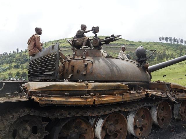 Mobutu falls out of power