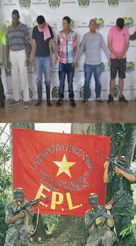 Alianza entre Los Puntilleros y el Ejército Popular de Liberación
