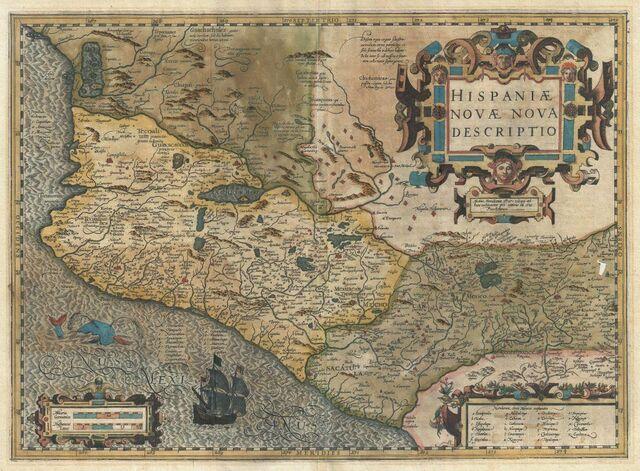 Mapa de Hondius y Mercator.