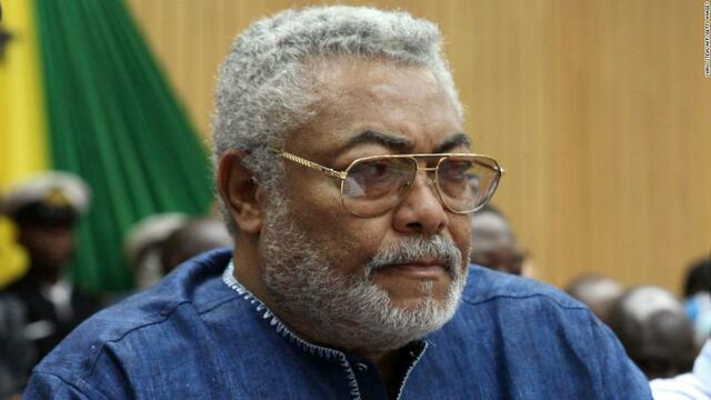 Jerry Rawlings becomes president
