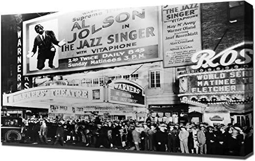 The Jazz Singer Premieres