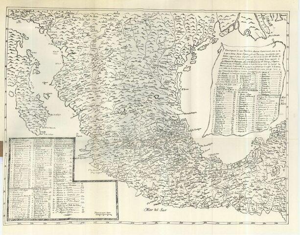 Primer mapa de México