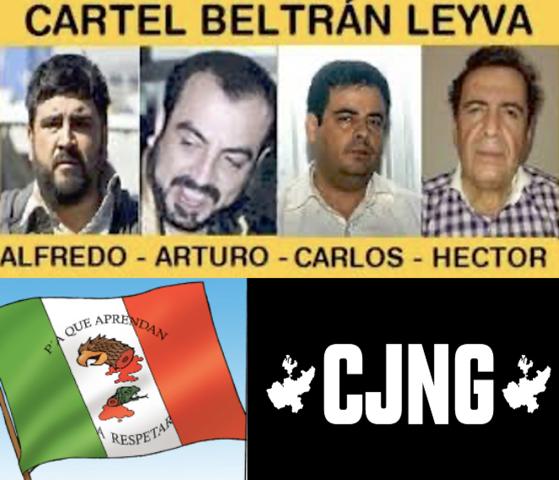 Alianza de la Organización Beltrán Leyva  con el Cártel de Juárez, el Cártel Jalisco Nueva Generación y Los Zetas