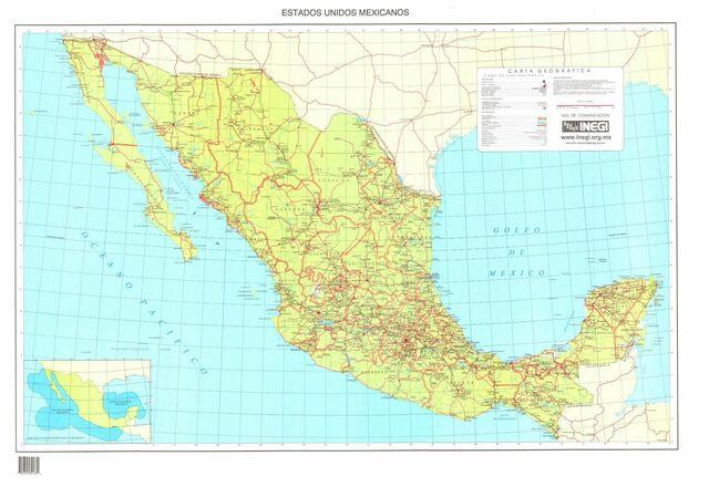 Mapa Mexicano