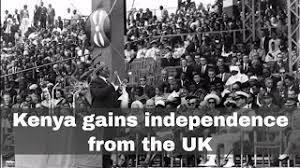 Kenya becomes independent