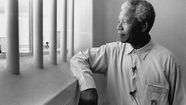 Nelson Mandela was jailed