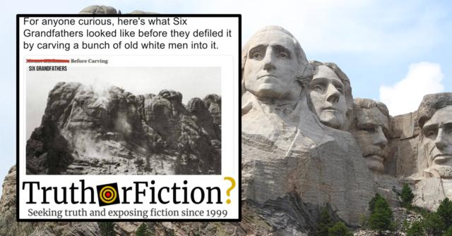 Sculpture at Mount Rushmore begins