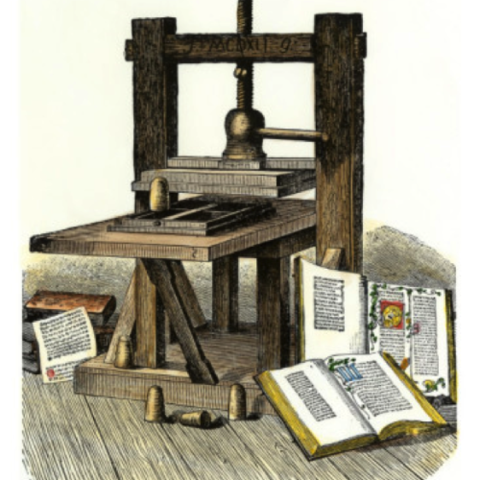 Creación de la imprenta