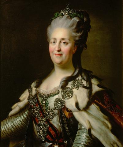 Emperatriz Catalina la Grande de Rusia