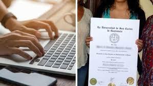 Títulos académicos en línea