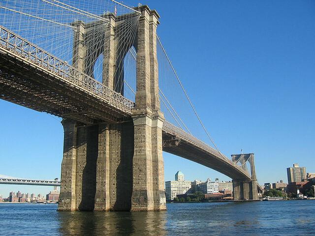 Inauguración del puente de Brooklyn