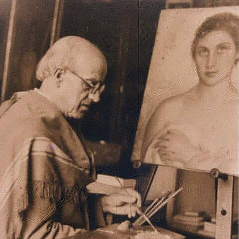 Nacimiento del pintor Eugenio Hermoso