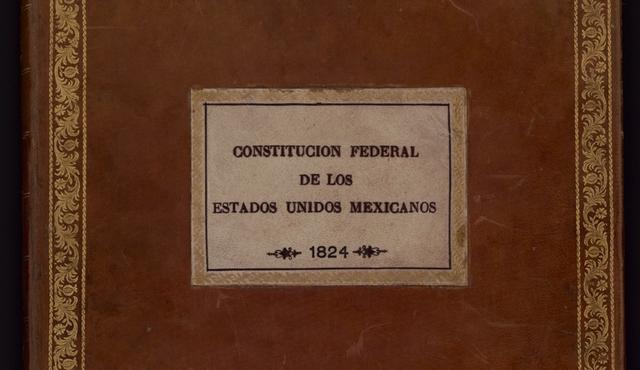 Se promulga La Constitución federal de los estados Unidos Mexicanos