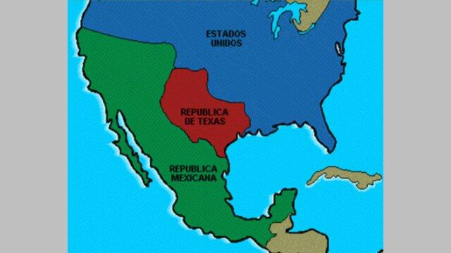 Texas pasa a formar parte de E.U.A.