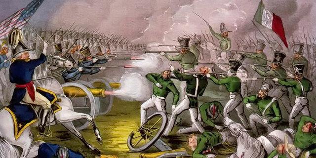 EUA declara la guerra a México