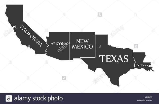Nuevo México y California son anexados a EUA
