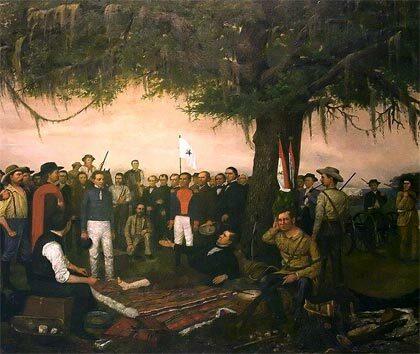 Santa Anna es desterrado de México