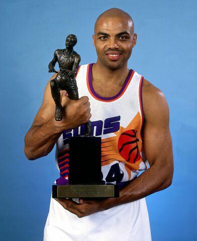Barkley le arrebata el MVP a Jordan
