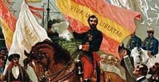 """Levantamiento del almirante Topete. Comienza """" La Gloriosa"""""""