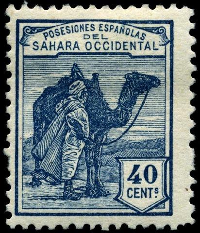 España ocupa el Sahara occidental y Río de Oro.