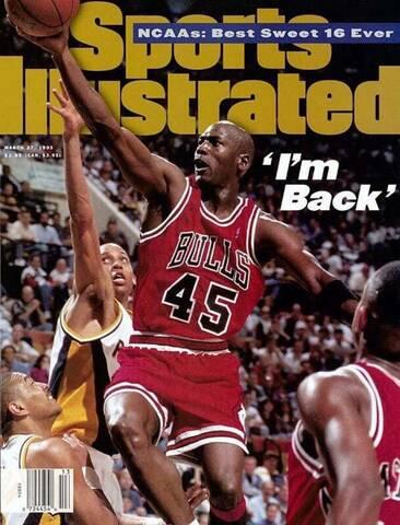 Jordan vuelve del retiro