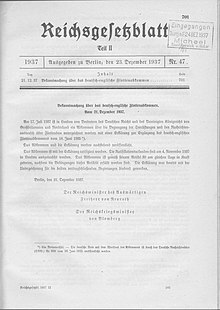 Flottenabkommen mit GB