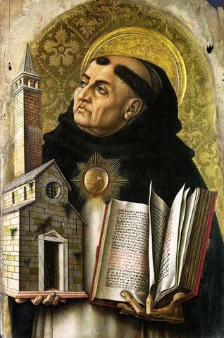 SAINT THOMAS AQUINAS (1225 - 1274)