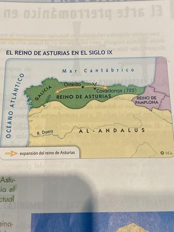 Galicia se incorpora al reino de asturias