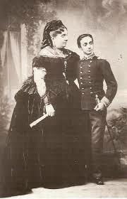 Abdicación en el exilio de la reina Isabel, en su hijo Alfonso
