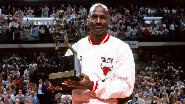 Jordan gana su último MVP