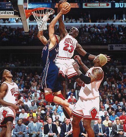 Los Bulls barren a los Nets