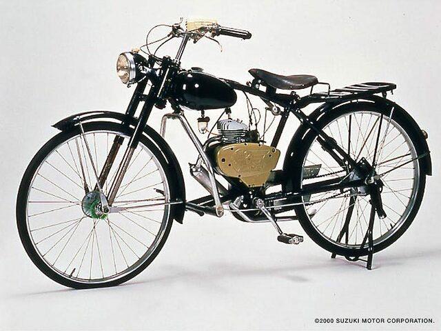 Primera moto de Suzuki